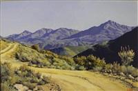 mountain rd near calitzdorp [sic] by ted (tjeerd adriaanus johannes) hoefsloot
